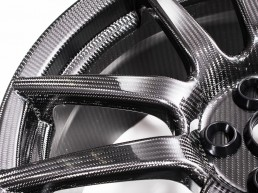 Carbon Fibre Wheel Resin Infusion